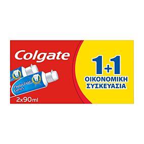 Οδοντόκρεμα COLGATE Protection caries 1+1 ΔΩΡΟ (2x90ml)