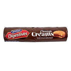 Μπισκότα MCVITIE'S digestive με γέμιση σοκολάτας (168g)