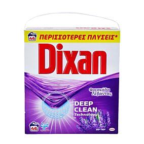 Απορρυπαντικό DIXAN πλυντηρίου ρούχων λεβάντα, σε σκόνη (46μεζ.)