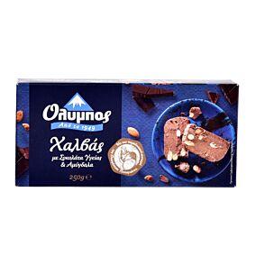 Χαλβάς ΟΛΥΜΠΟΣ με σοκολάτα και αμύγδαλα χωρίς γλουτένη (250g)