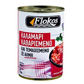 Καλαμάρια FLOKOS κονσέρβα σε άλμη (350g)