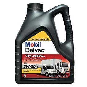 Λάδι MOBIL Delvac για μικρά οχήματα πλήρως συνθετικό (4lt)