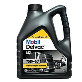 Λάδι MOBIL Delvac MX για μεγάλα οχήματα ορυκτέλαιο (4lt)
