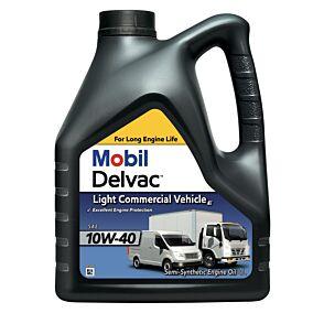 Λάδι κινητήρα MOBIL Delvac ημισυνθετικό για μικρά οχήματα 10W40 4lt