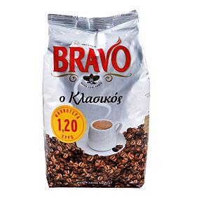 Καφές BRAVO κλασσικός ελληνικός -1,2€ (985g)