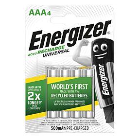 Μπαταρία ENERGIZER επαναφορτιζόμενη AAA 500mah (4τεμ.)