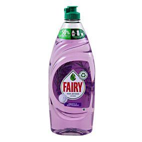 Απορρυπαντικό πιάτων FAIRY Pure λεβάντα και δενδρολίβανο (654ml)