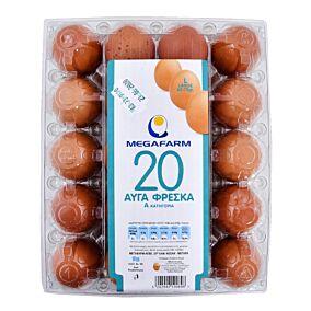 Αυγά ΜΕΓΑΦΑΡΜ φρέσκα large (63-73g)
