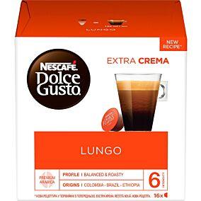 Καφές NESCAFE dolce gusto lungo σε κάψουλες 16τεμ. (104g)
