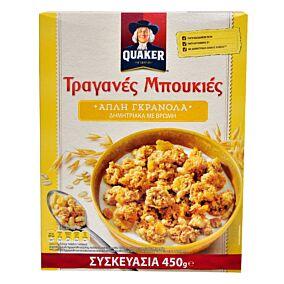 Δημητριακά QUAKER τραγανές μπουκιές βρώμης (450g)