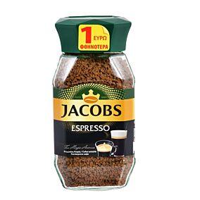 Καφές JACOBS στιγμιαίος espresso -1€ (95g)
