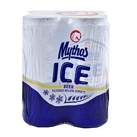 Μπύρα MYTHOS Ice κουτί (4x330ml)