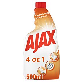 Καθαριστικό AJAX γενικής χρήσης 4 σε 1 refill, σε σπρέι (500ml)