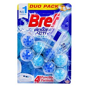 Αποσμητικό τουαλέτας BREF power active ocean duo (2τεμ.)
