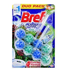 Αποσμητικό τουαλέτας BREF power active pine duo (2τεμ.)