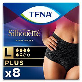 Πάνες TENA Sihlouette plus black large (8τεμ.)