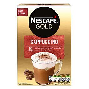 Καφές NESCAFE Gold Cappuccino (10x140g)
