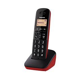 Ασύρματο τηλέφωνο PANASONIC κόκκινο KX-TGB610GRR