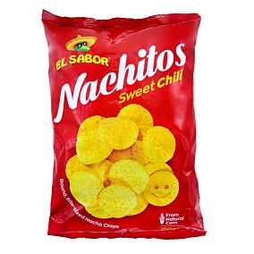 Τσιπς τορτίγια EL SABOR nachitos sweet chili (150g)