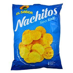 Τσιπς τορτίγια EL SABOR nachitos με αλάτι (150g)