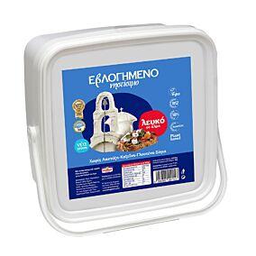 Τυρί ΕΒΛΟΓΗΜΕΝΟ λευκό νηστίσιμο σε άλμη (4kg)