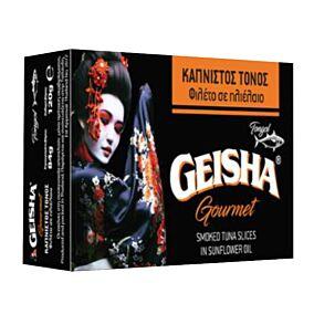 Κονσέρβα GEISHA τόνος καπνιστός σε ηλιέλαιο (120g)