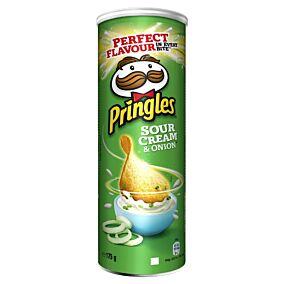 Πατατάκια PRINGLES Cream & Onion (175g)