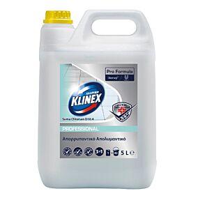 Καθαριστικό KLINEX 3in1 απολυμαντικό δαπέδου Chlorsan (5lt)