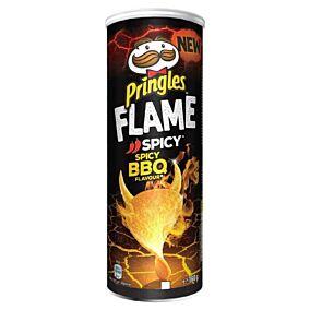 Πατατάκια PRINGLES Flame bbq (160g)