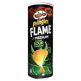 Πατατάκια PRINGLES Flame Sour cream (160g)
