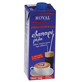 Γάλα ROYAL εβαπόρε συμπυκνωμένο Professional 7,5% (1lt.)