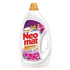 Απορρρυπαντικό ΝΕΟΜΑΤ πλυντηρίου σε σκόνη με άρωμα Wild Rose (60μεζ.)