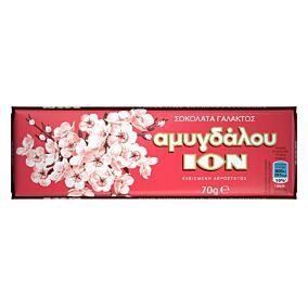 Σοκολάτα ΙΟΝ γάλακτος αμυγδάλου (70g)