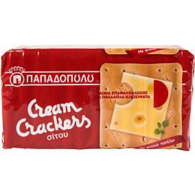 Κράκερ ΠΑΠΑΔΟΠΟΥΛΟΥ cream crackers (18x140g)