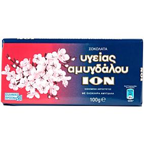 Σοκολάτα ΙΟΝ υγείας αμυγδάλου (10x100g)