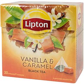 Τσάι LIPTON με άρωμα καραμέλα βανίλια (20x1,7g)
