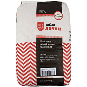 Αλεύρι ΜΥΛΟΙ ΑΓΙΟΥ ΓΕΩΡΓΙΟΥ για όλες τις χρήσεις τύπου άλεσης 55% (25kg)