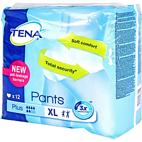 Πάνες TENA Pants plus XL (4x12τεμ.)