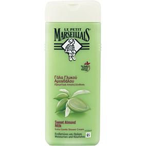 Αφρόλουτρο LE PETIT MARSEILIAIS γάλα γλυκού αμυγδάλου (400ml)
