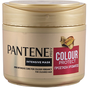 Μάσκα μαλλιών PANTENE 2 minutes miracle για βαμμένα μαλλιά προστασία χρώματος (300ml)
