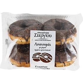 Donuts ΣΤΕΡΓΙΟΥ με πραλίνα (4τεμ.)
