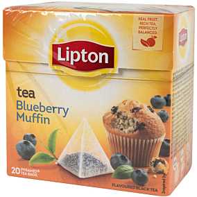 Τσάι LIPTON blueberry muffin (20x1,7g)