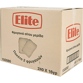 Φρυγανιά ELITE σίτου (2x240g)