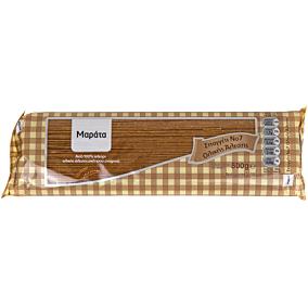 Μακαρόνια ΜΑΡΑΤΑ σπαγγέτι Νο.7 ολικής άλεσης (500g)