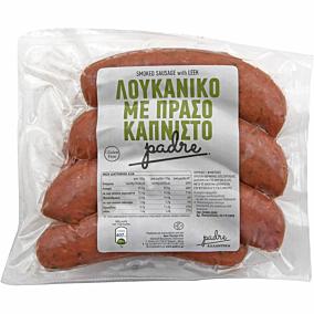 Λουκάνικα PADRE χωριάτικα με πράσο (~1,5kg)