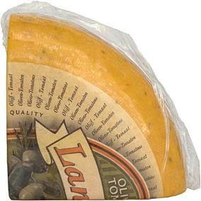 Τυρί EUROFOOD gouda με ελιά, τομάτα Ολλανδίας (~2,5kg)