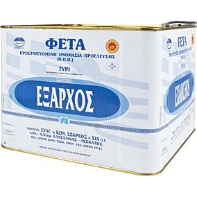 Τυρί ΕΞΑΡΧΟΣ φέτα (~7kg)