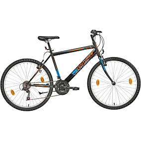 """Ποδήλατο VENTURE MTB REAL 26"""" 18 ταχύτητες γυναικείο λευκό"""