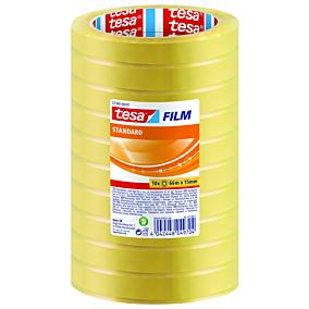 Κολλητική ταινία TESA Standard Film σετ 10 ρολά 66x15
