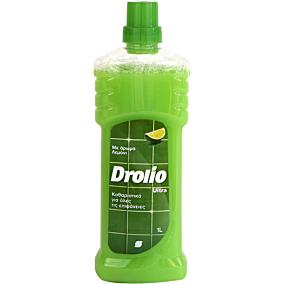 Καθαριστικό DROLIO ΓΙΑ ΕΠΑΓΓΕΛΜΑΤΙΕΣ για το πάτωμα με άρωμα λεμόνι, υγρό (1lt)